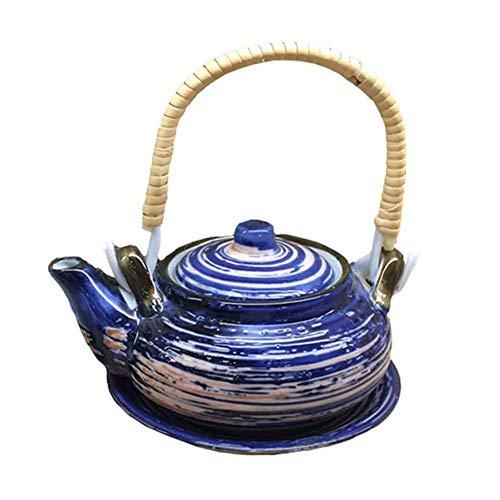 BLANCHO BEDDING Exquisito Destacado Multiusos Estilo Japonés Porcelana Tetera Sopa Olla 6#