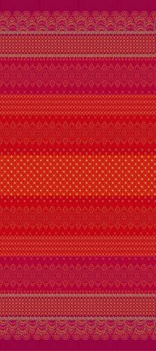Bassetti Colcha de algodón Rojo 265 x 255 cm