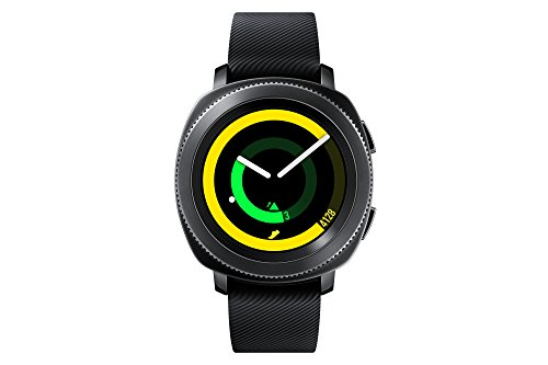 Samsung SM-R600NZKABTU Gear Sport Smartwatch (UK Version) - Black