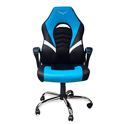 Silla Gamer NACEB TITAN Semi Reclinable Azul NA-0935A