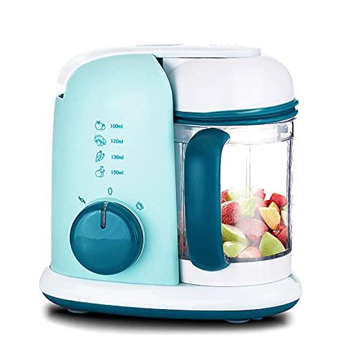 BaoYPP Máquina para Hacer Alimentos para Bebés Máquina De Complemento De Alimentos para Bebés Máquina De Vapor Mezclador Procesador De Alimentos Multifuncional Mezcla a Escala Fina