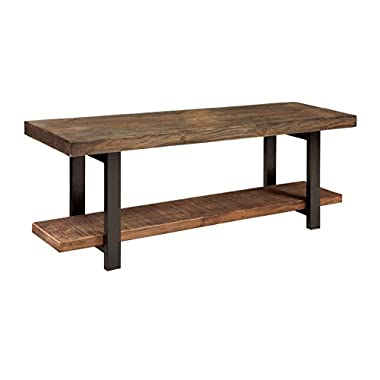 Alaterre AMBA0320 AZMBA0320 Sonoma Rustic Natural Bench, Brown