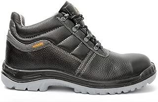 Hillson SB-018 Mirage Safety Shoes (Black, Size 9)
