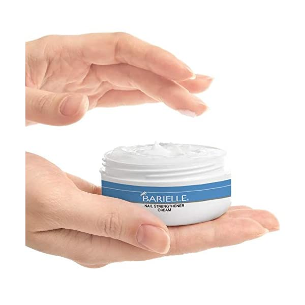 Beauty Shopping Barielle Nail Strengthener Cream Helps Improve Nail Growth.For