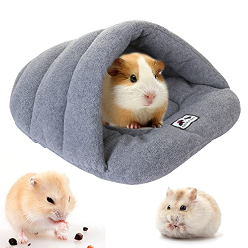 ToKinCen Camas para Perros Gatos Saco de Dormir para Perros cálido Cuevas casa para Gatos Nido de Gato caseta de Perros