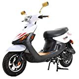 X-PRO X22 50cc Moped Scooter Street Scooter Gas Moped 50cc Adult...