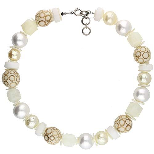 langani Damenhalskette Aria Halskette für Damen Handmade Since 1952 opulenter hochwertiger Modeschmuck