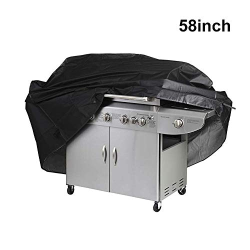 """Alipower BBQ Grill Cover, 58 inch Waterproof Heavy-Duty Premium Gas Grill Cover Barbeque Grill Cover - Medium 58""""x24""""x46""""(LxWxH) Black Covers Grill"""