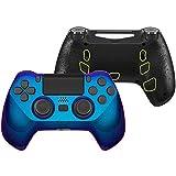 eXtremeRate DECADE Tournament Controller(DTC) Actualización Kit para PS4 JDM-040/050/055 Control Actualización Board&Carcasa Ergonómica&Botones Traseros&Gatillos Stops-No Incluye Mando(Azul a Violeta)