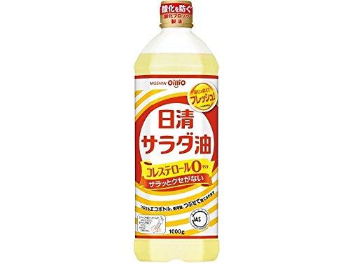 日清オイリオ サラダ油 ポリ 1kg x8