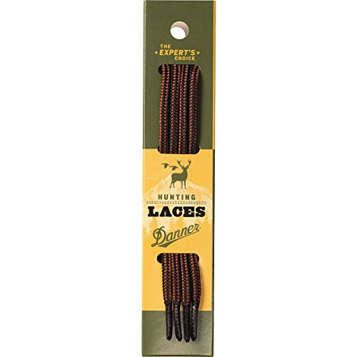 Danner Laces 63' Shoelaces, Black/Tan, Medium
