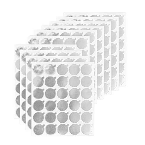 T TOOYFUL 300 Paquet Colle À Cils Titulaire Palette Étanche Autocollant Papier Cils Extension Colle Pad Fournitures