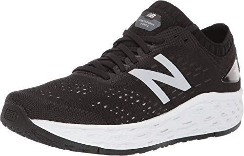 New Balance womens Fresh Foam Vongo V4 Running Shoe, Black/Overcast, 9.5 Wide US