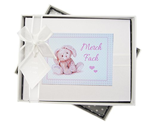 Welsh, Merch Fach, Nieuwe Baby, Klein fotoalbum, Roze Bunny