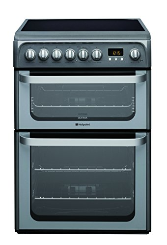 Hotpoint HUE61GS Freestanding Electric A/A Rated Cooker -Graphite