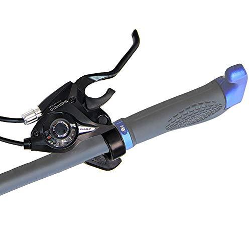 Lizac Shimano Schalthebel V Brake ST EF51 Set, Schalthebel Bremshebel mit Bremskabel, 8 Fach Gangschaltung Bremskombination mit Ganganzeige für V Brake, schwarz(L3×R8 Gänge) - 5