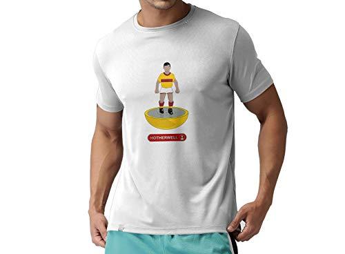 Motherwell FC Novelty Football T Shirt, (XX Large)