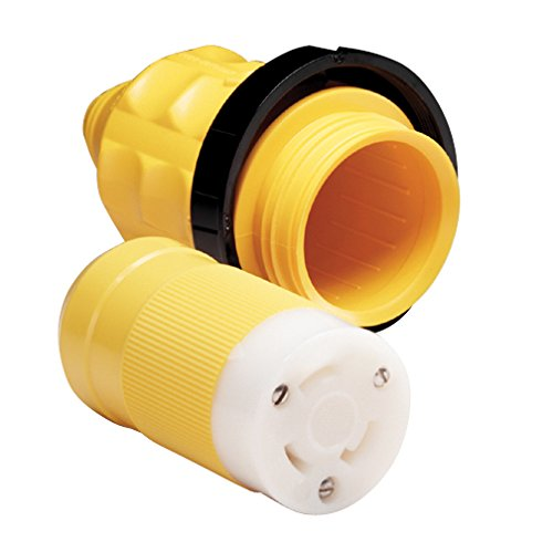 MARINCO 305CRCN.VPK 30A FEMALE CONNECTOR W/ COVER AND RINGS