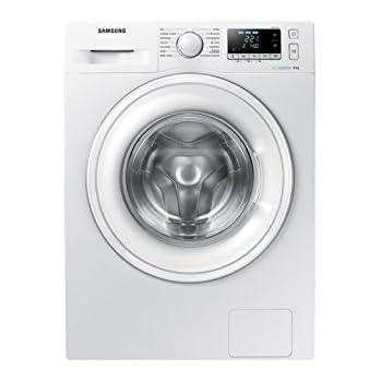 Lave linge Hublot Samsung WW80J5556DWEF - Lave linge Frontal - Pose libre - capacité : 8 Kg - Vitesse d'essorage maxi 1400 tr/min - Classe A+++ -10%