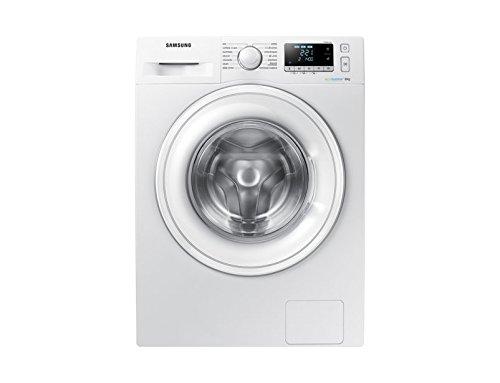 Lave linge Frontal Samsung WW80J5556DWEF - Lave linge - Pose libre - capacité : 8 Kg - Vitesse d'essorage maxi 1400 tr/min - Classe A+++ -10%