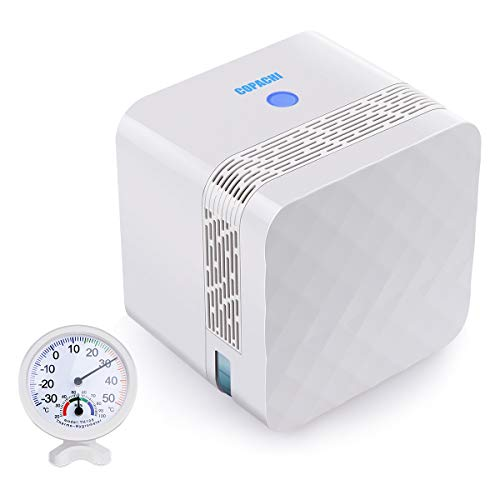 BOBMETON Small Dehumidifier Electric Mini Dehumidifier Remove Dampness From Your Home-2100 Cubic Feet
