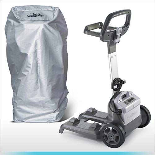 Fantastic Deal! DOLPHIN Robotic Pool Cleaner Base Mount Caddy and Caddy Cover Bundle Nautilus, Nauti...