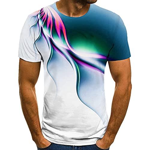 Camiseta de los hombres de la camiseta de verano de los hombres de manga corta camiseta