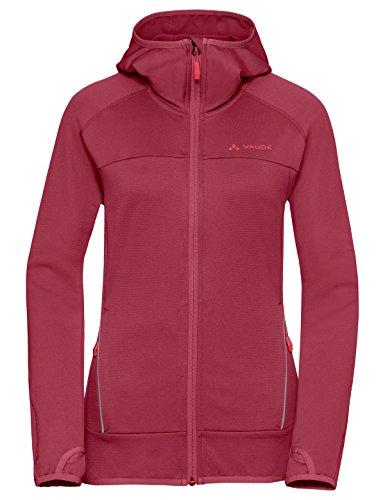 VAUDE Damen Women's Tekoa Fleece Jacket Jacke, red Cluster, 34