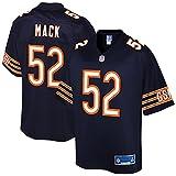 NFL PRO LINE Men's Khalil Mack Navy Chicago Bears Team Player Jersey