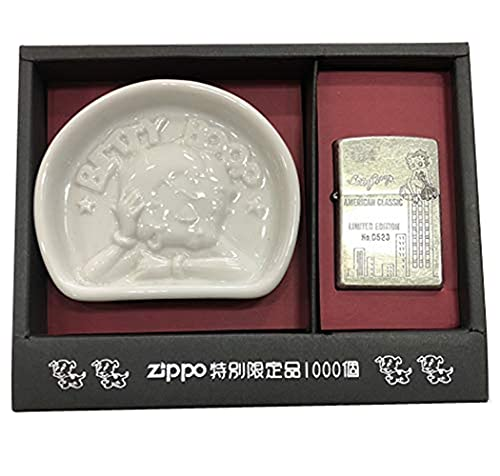zippo ベティ 特別限定品 灰皿付き 1997年製造
