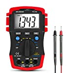 Digital Multimeter INFURIDER YF-37K 4000 Counts TRMS Auto-Ranging Volt Amp Ohm Meter,Accurate for AC DC Voltage Current Resistance Cap Hz Diode and Continuity Tester