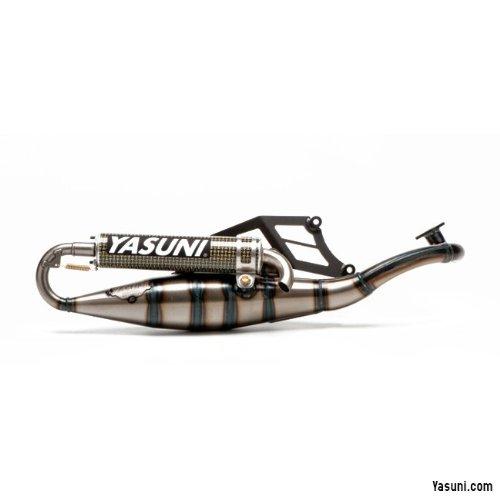 Escape Yasuni Scooter R Amarillo Carbon para Aprilia, Suzuki
