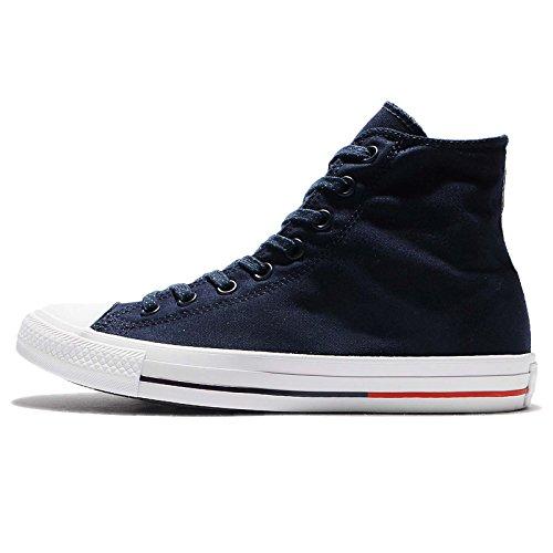 Converse Chuck 153792 C - Zapatillas deportivas High Black/White/Lava, Azul (Dark-Navy), 36.5