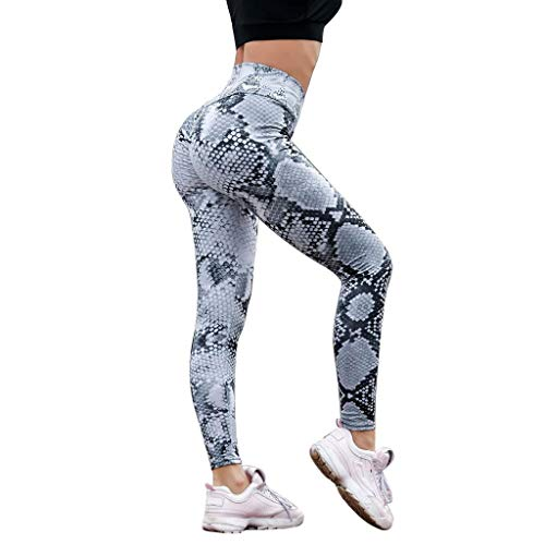 Leggings Mujer Fitness 2020 SHOBDW Cintura Alta Serpentine Leggings Serpentine Legging Yoga...