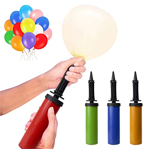 Normout Luftballon Pumpe - Luftpumpe Ballon - Robustes Design & langlebiger Kunststoff, leicht & kompakt - Luftpumpe für Luftballons *ZUFÄLLIGE FARBE* Pumpe für Luftballons, Ballon Pumpe