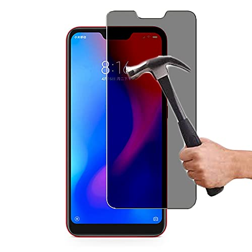 Lapinette Protector de Pantalla Compatible con Xiaomi Mi A2 Lite (Redmi 6 Pro) Anti Espía - Protector de Pantalla Vidrio Templado Mi A2 Lite Anti Spy - Filtro de Privacidad Cristal Templado