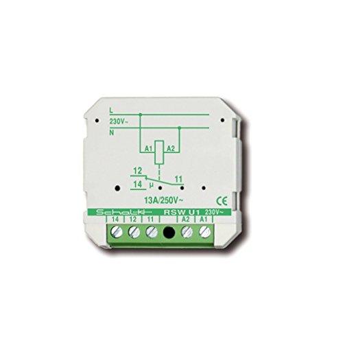 Schalk Impulsschalter RSW U1 (230V AC) Schaltrelais 4046929601221