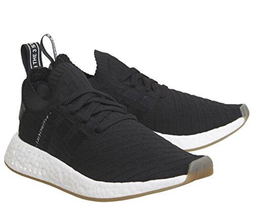 adidas adidas Herren Nmd_r2 Pk Turnschuhe, Mehrfarbig (Negbas / Negbas / Negbas), 36