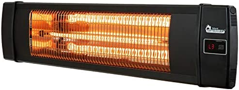 Dr Infrared Heater DR-238 Carbon Infrared Heater, Standard, Black