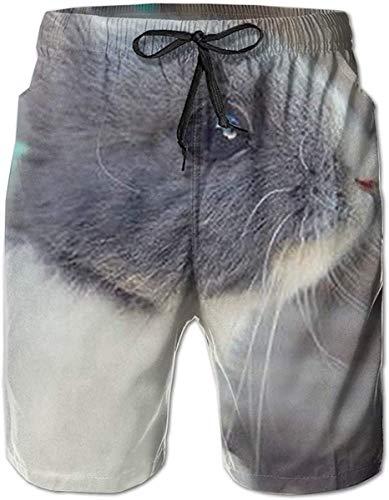 tyui7 Herren Strand Badehose Bunny's Wish Badeanzug Bad Unterwäsche Boardshorts mit Tasche