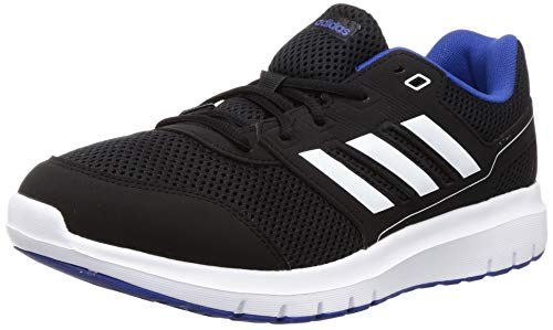 adidas Herren Duramo Lite 2.0 Laufschuh, Core Black/FTWR White/Team Royal Blue, 45 1/3 EU