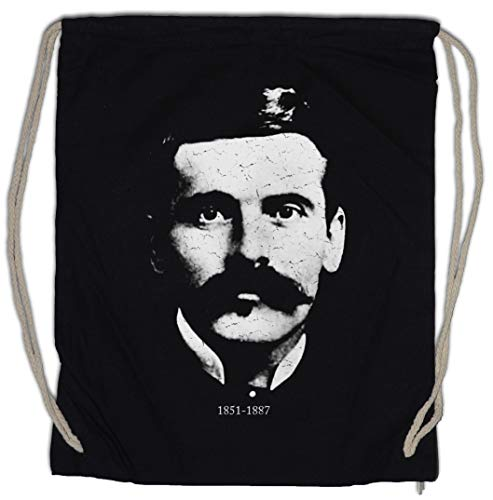 Urban Backwoods Doc Holliday Portrait Turnbeutel Sporttasche