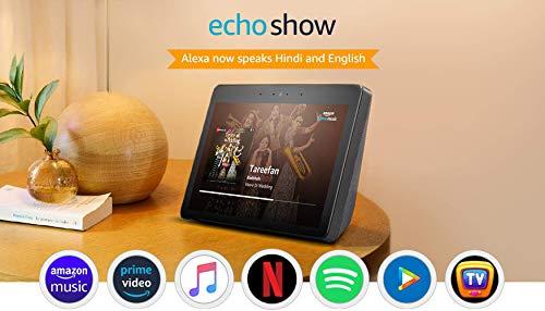 "Echo Show - Premium sound and a vibrant 10.1"" HD screen - Black"