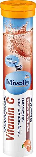 Mivolis Vitamin C Brausetabletten, 82 g, 20 Brausetabletten