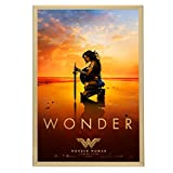 SnapeZo Movie Poster Frame 24x36, Gold, 1.25 Inch Aluminum Profile, Front-Loading Snap Frame, Wall Mounting, Professional Series