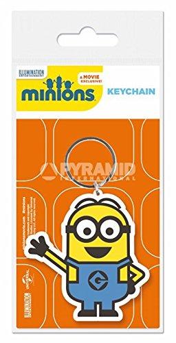 Les Minions - Porte-clés caoutchouc Minion Dave 6 cm
