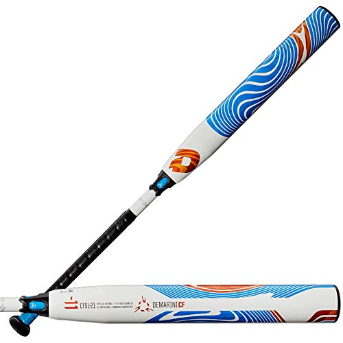 Wilson Demarini FP Cf Zen (-11) Fastpitch Bat - 32' , white