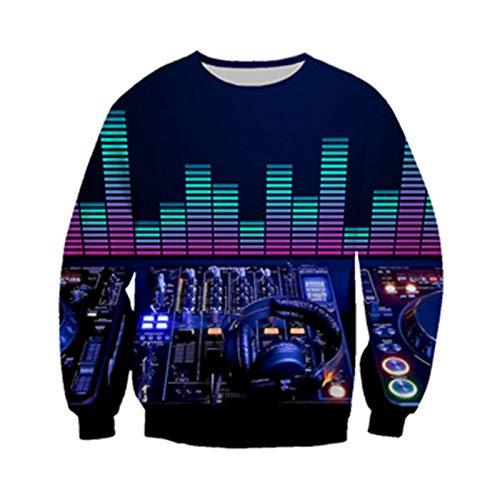 Sweat à Capuche Audio Hommes Femmes décontracté DJ contrôleur vêtements Sweats à Capuche Hip Hop Sweat à Capuche Color as The Picture 5XL