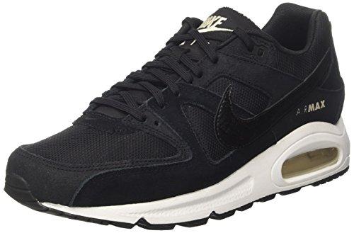 Nike Wmns Air Max Command, Scarpe da Ginnastica Basse Donna, Nero (Black/Black/White/Oatmeal), 36.5 EU