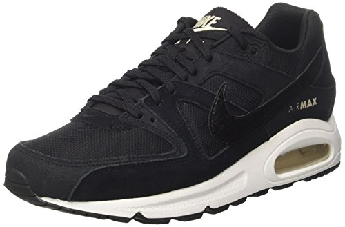 Nike Damen WMNS AIR MAX Command Sneaker, Schwarz (Negro), 36.5 EU